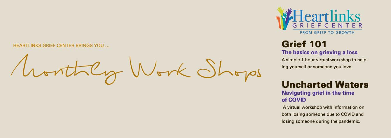 Heartlinks Monthly WorkShops